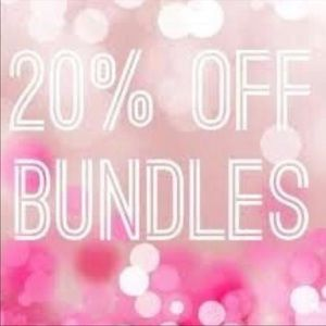 Other - Bundle 2 or more items and receive 20% off